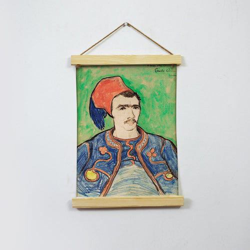 The Zouave (1888) By Van Gogh  Hanging Canvas