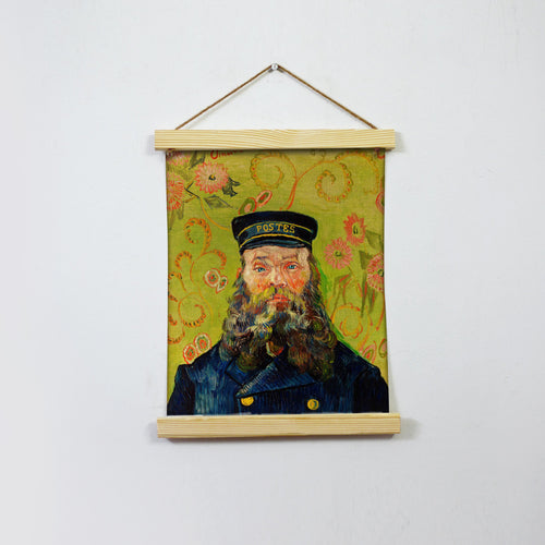 The Postman Painting By Van Gogh Hanging Canvas