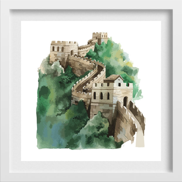 The Great Wall of China Painting - Meri Deewar