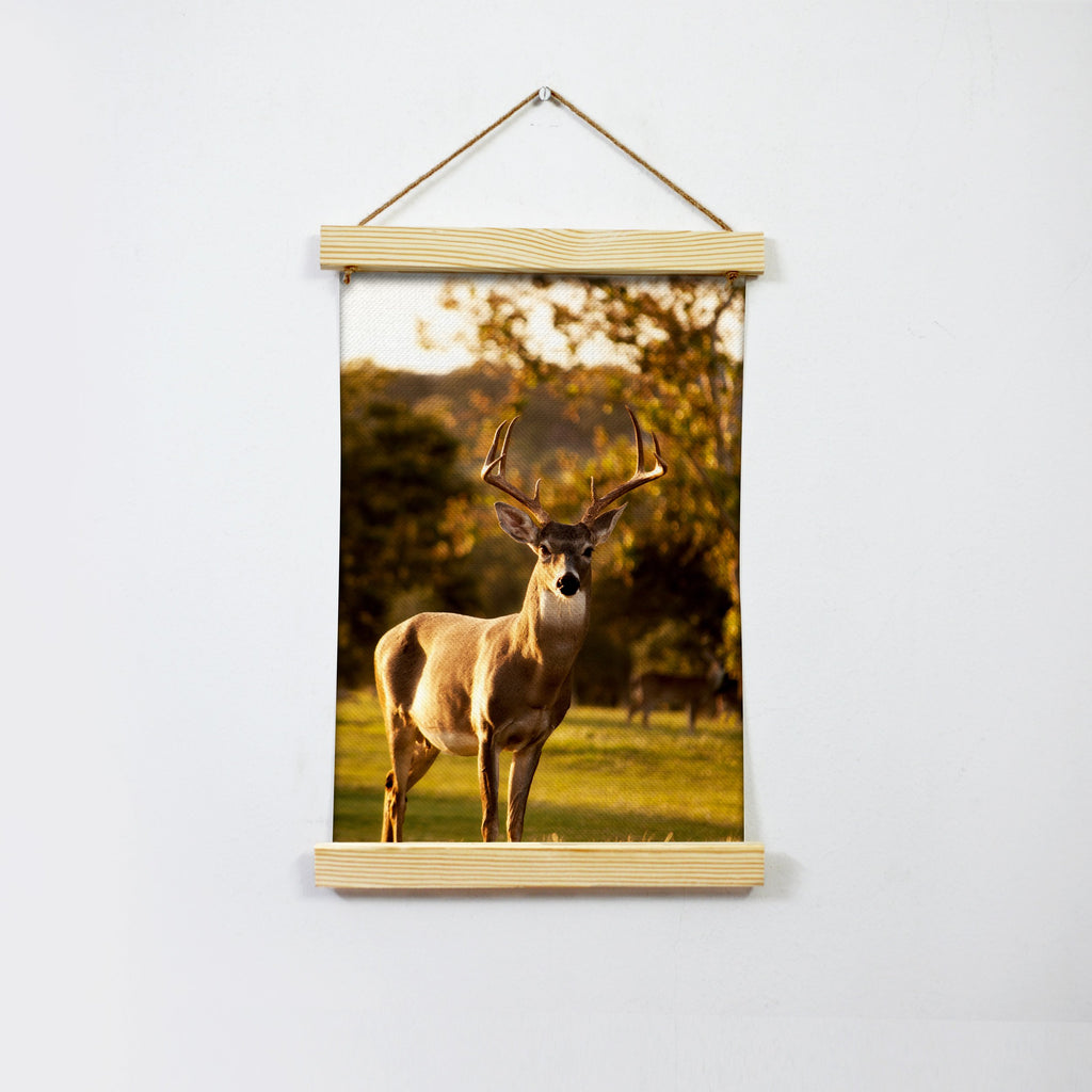 The Elegant Deer Hanging Canvas