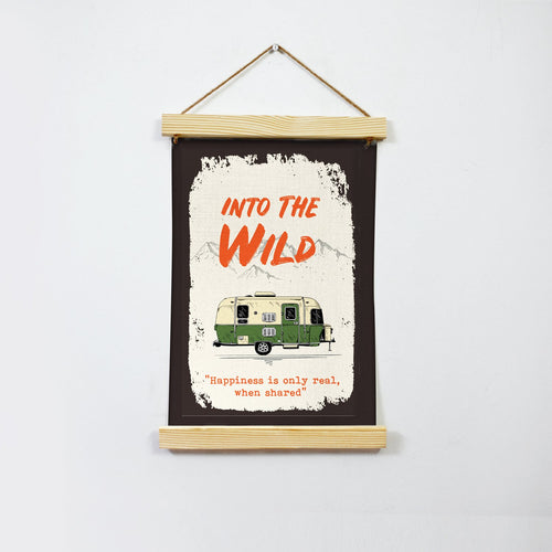 Into the Wild Poster Canvas