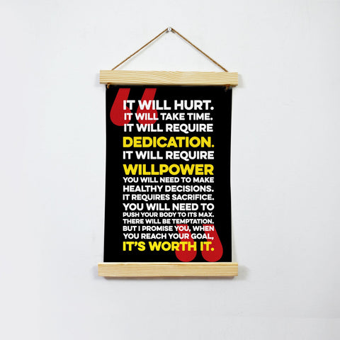 It will hurt Poster Canvas