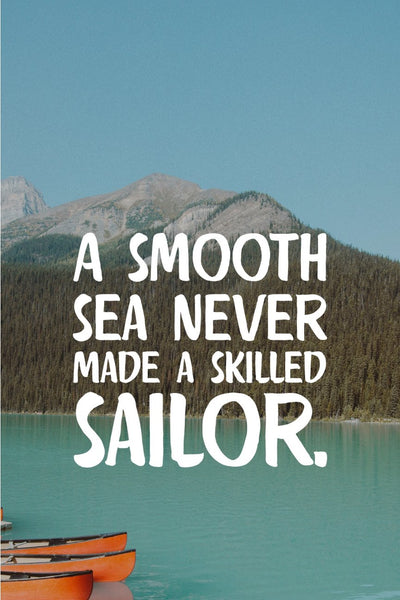 A smooth sea _ poster