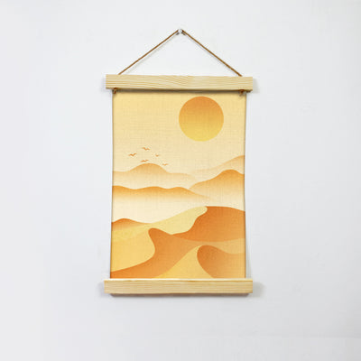 Sand Dune Hanging Canvas