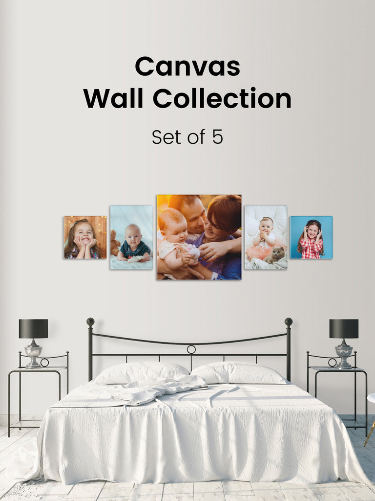 Canvas Wall Collection - Seven