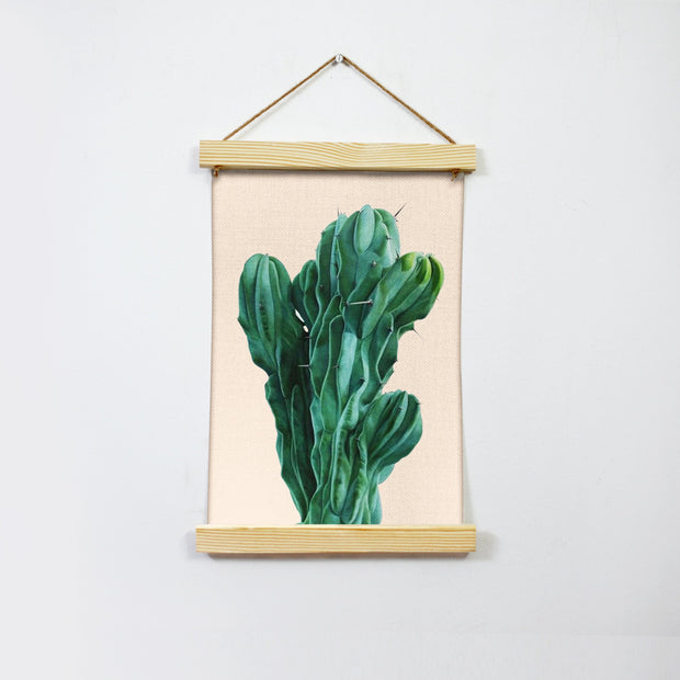 Cactus Painting Hanging Canvas