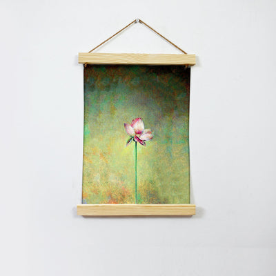 Lotus Painting Hanging Canvas