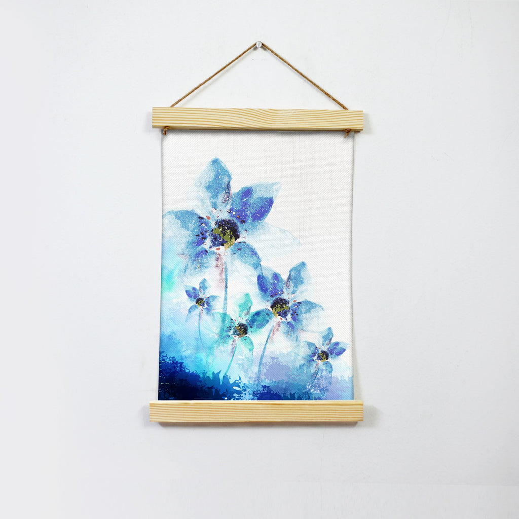 Water Color Flower Painting Wall Art Hanging Canvas