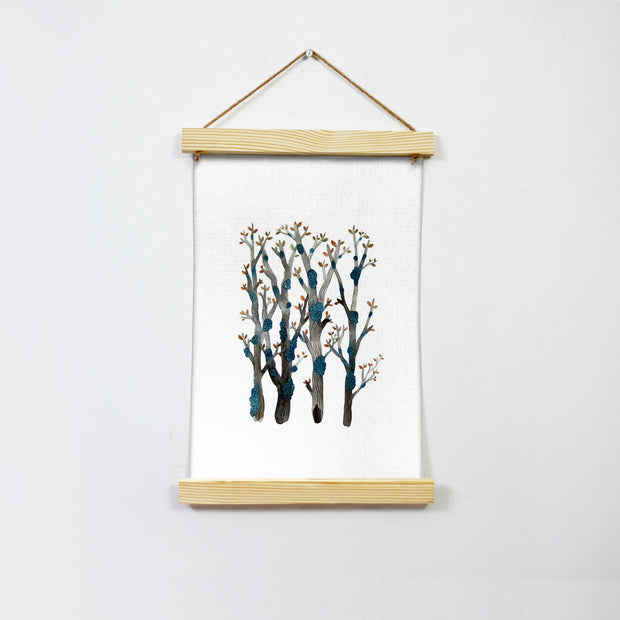 Trees Branches Hanging Canvas