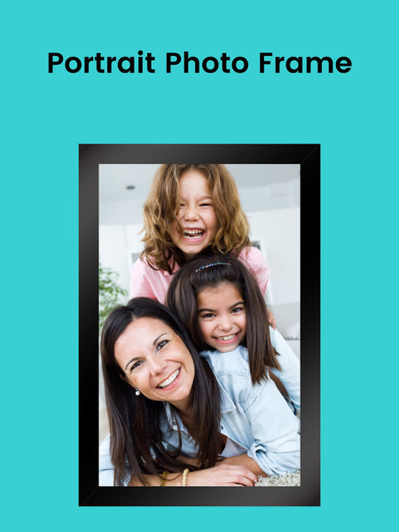 Modern Portrait Photo Frame