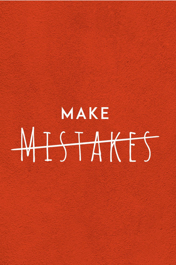 Make Mistakes _ poster