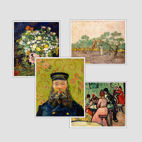 Set of 4 Print by Van Gogh