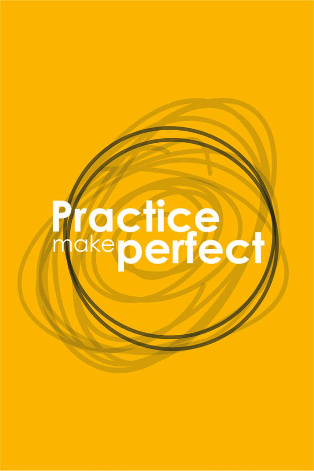 Practice Make Perfect _ poster