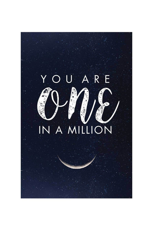 You Are One In A Million  _ poster