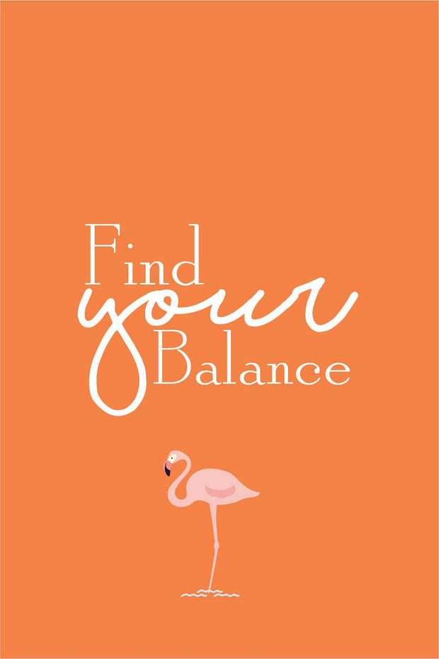Find Your Balance  _ poster