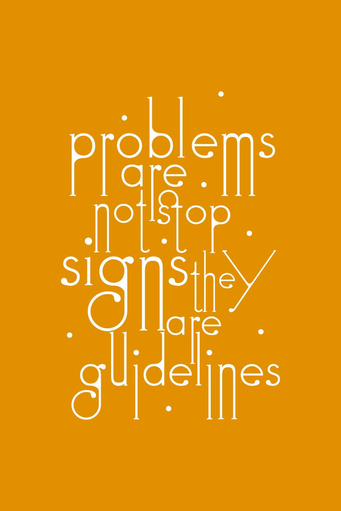 Problems Are Not Stop _Poster