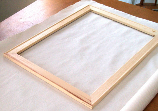 Canvas Stretched Wooden Frame