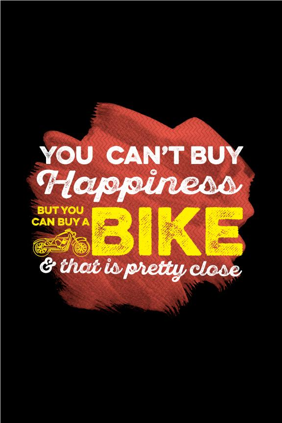 You can't buy happiness Poster