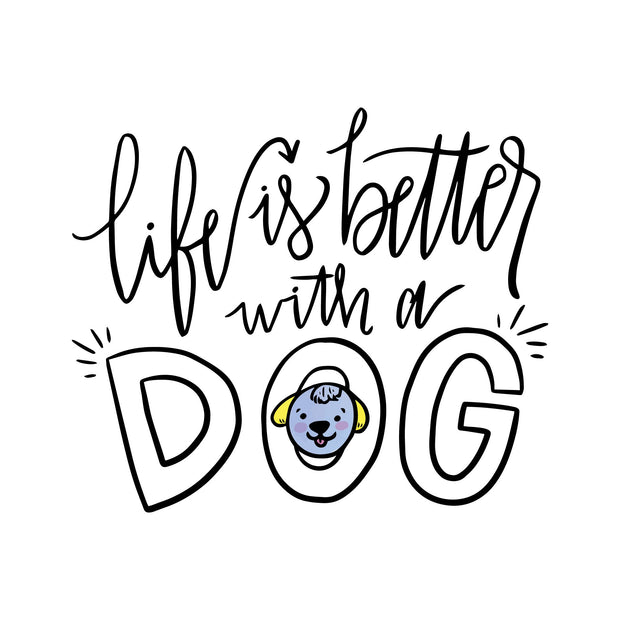 Life-is-better-with-dog_Poster