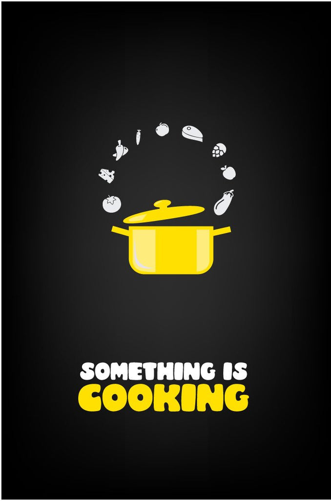 Something is cooking poster