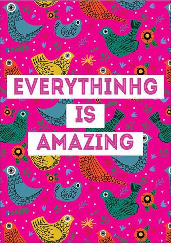 Everything is Amazing Poster
