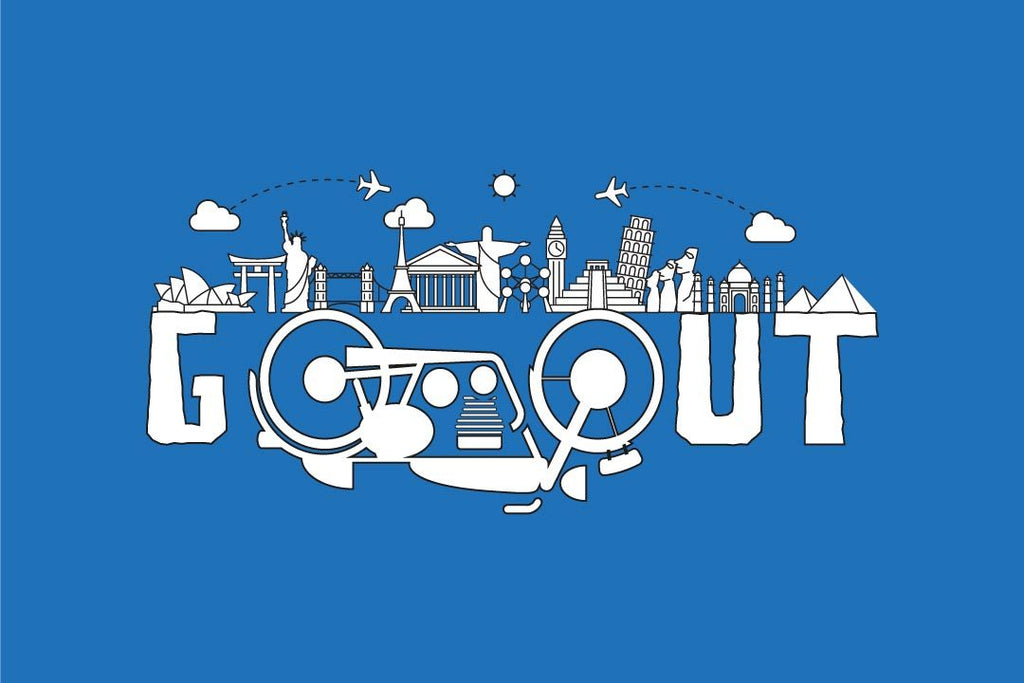 Go Out Doodle poster
