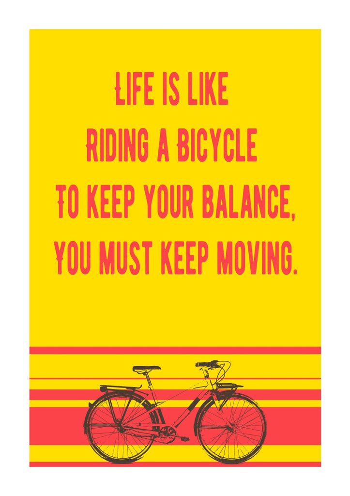 Keep Moving Poster