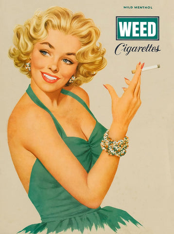 For the love of weed poster