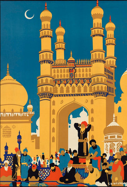 Culture of India 2 Vintage poster