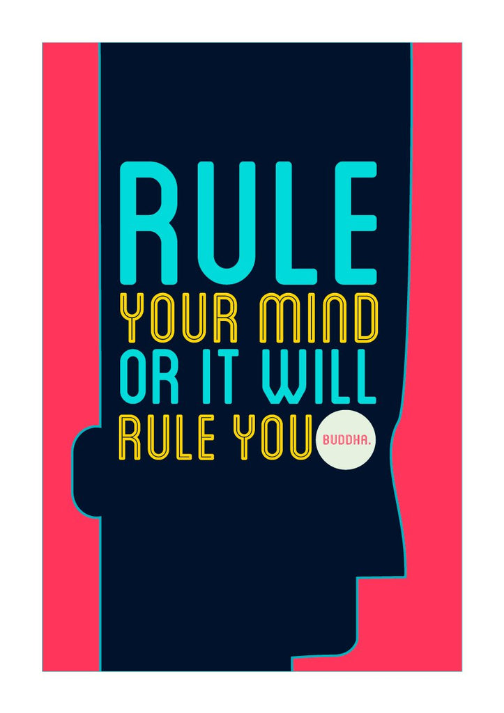 Rule your mind Poster