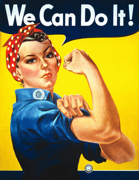 We can do it Vintage Poster