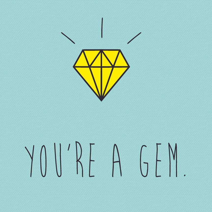 You are a Gem Poster