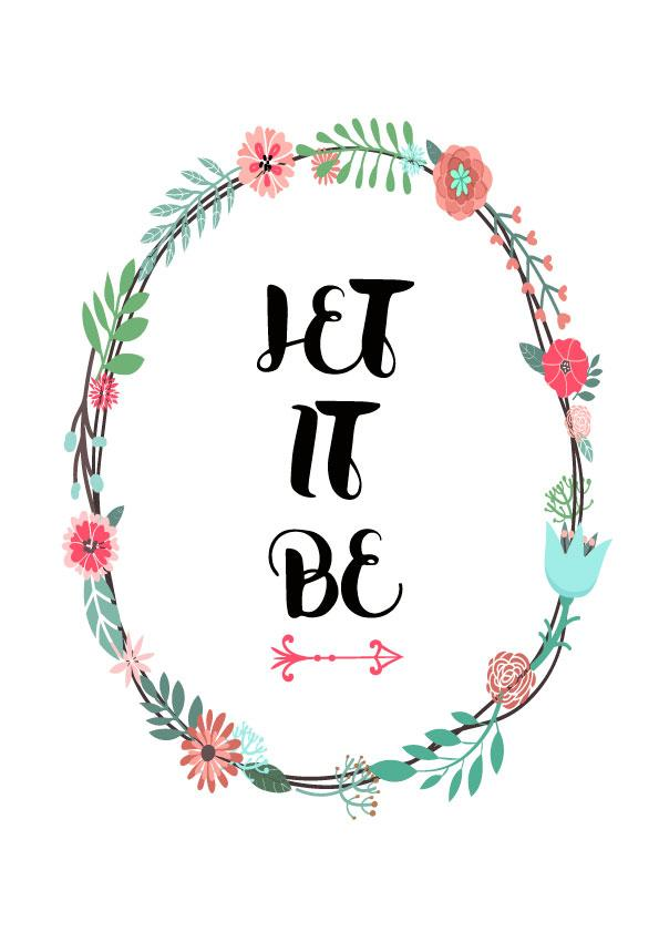 let-it-be Poster