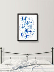 Stars Shining for you poster