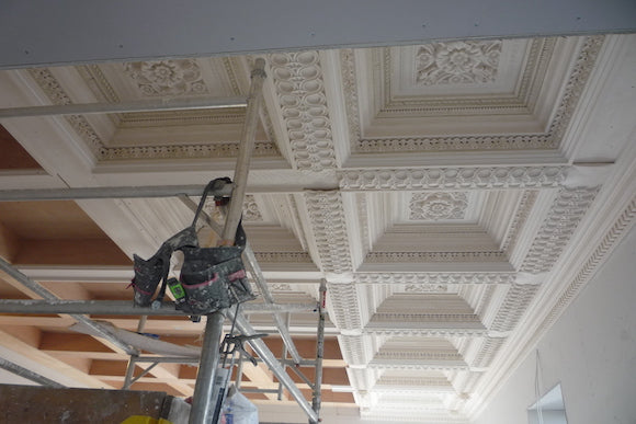 Creating The Scale And Proportions We Were Striving For Complete With Ornate Detail Able To Produce This Magnificent Ceiling Design