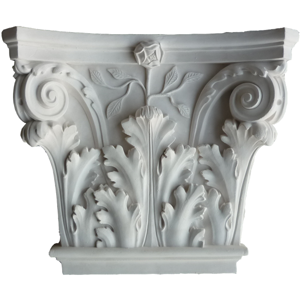 Small Corinthian PL3 CAP - Fluted Pilaster