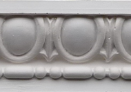 C301 - Small egg and dart bead cornice