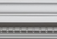 C313 - New small dentil cornice