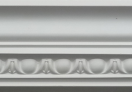 C319 - Classic egg and dart dentil cornice