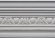 C322 - Egg and dart bead cornice