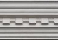 C325 - New medium dentil cornice