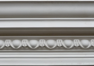 C334 - Stepped egg and dart cornice