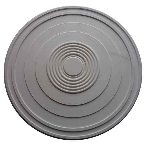 CR196 - Large Stepped Plain - Ceiling Rose