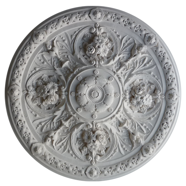 VC40 - The Queensborough Plain - Vintage Ceiling Rose