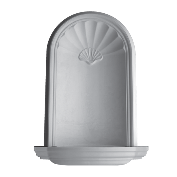 WN08 (Frosted Glass Base) - Plaster niche