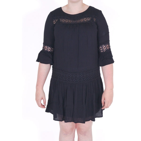 ONLY ONLY Tyra 3/4 Short Dress Dress Black