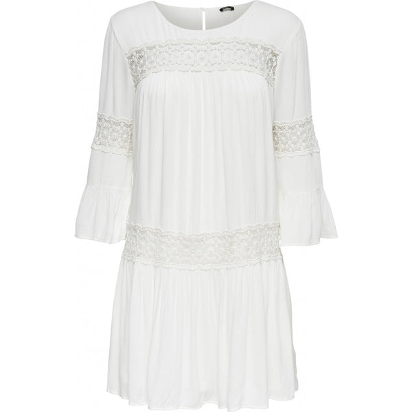 ONLY ONLY Tyra 3/4 Short Dress Dress White