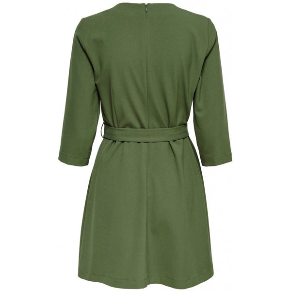 ONLY ONLY Zia 3/4 Sleeve Dress Dress Green