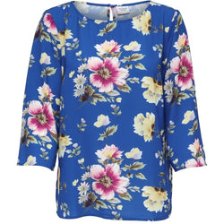 Jacqueline De Yong JDY Hero 3/4 Top LS Shirt Blue