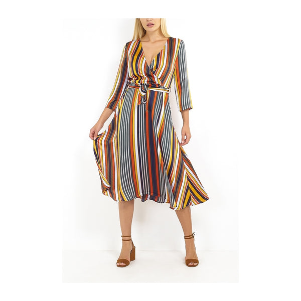 Tex-Time Brave Soul dame kjole julia Dress Multi color